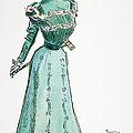 A Gibson Girl, 1899 by Granger