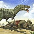 A Gorgosaurus Libratus Stands by Sergey Krasovskiy
