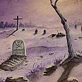 A  Grave Yard by Bob Arata