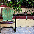 A Green Chair by Lorraine Devon Wilke