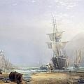A Hazy Morning On The Coast Of Devon by Samuel Phillips Jackson