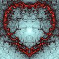 A Heart Afire by Richard Ortolano