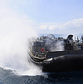 A Landing Craft Air Cushion Travels by Stocktrek Images