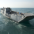 A Landing Craft Utility Transits by Stocktrek Images