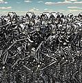 A Large Gathering Of Robots by Mark Stevenson
