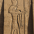 A Large Relief Of The God Horus by Taylor S. Kennedy