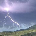 A Lightning Bolt From A Thunderstorm by Robbie George