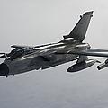 A Luftwaffe Tornado Ecr Over Northern by Gert Kromhout
