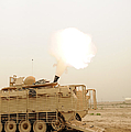 A M120 Mortar System Is Fired by Stocktrek Images
