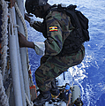 A Marine From The Uganda People's by Stocktrek Images