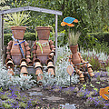A Marine Garden Area In The Childrens by Douglas Orton