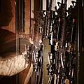 A Marine Pulls An M-4 Rifle by Stocktrek Images