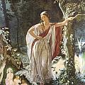 A Midsummer Night's Dream Hermia And The Fairies by John Simmons