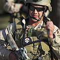 A Military Reserve Navy Seal Gives by Michael Wood