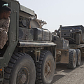 A Mk48 Logistics Vehicle System by Stocktrek Images