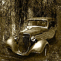 A More Elegant Time In Sepia by Kathy Clark