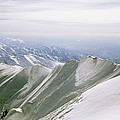 A Mountain Climber Hikes by Bill Hatcher