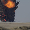 A Munitions Disposal Explosion by Stocktrek Images