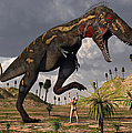 A Nano-tyrannosaurus Takes On Adam by Mark Stevenson