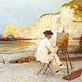 A Painter By The Sea Side by William Henry Lippincott