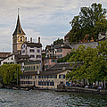 A Panorama View Of Zurich by Greg Dale