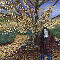 A Portrait Of The Artist's Mother In Autumn by Denny Morreale