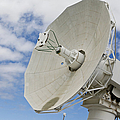 A Radar Dish Aboard Mobile At-sea by Stocktrek Images