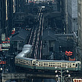 A Railway Encircles Thirty-five Blocks by James L. Stanfield