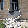 A Rocket Propelled Grenade Damaged This by Stocktrek Images