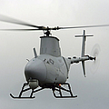 A Rq-8a Fire Scout Unmanned Aerial by Stocktrek Images