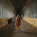 A Sadu Walks Through Rameswaram Temples by Justin Guariglia