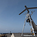 A Scan Eagle Unmanned Aerial Vehicle by Stocktrek Images