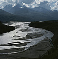 A Scenic View Of The Matanuska River by George F. Herben