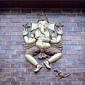 A Sculpture Of The Hindu God Ganesha by Ashish Agarwal