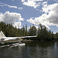 A Seaplane Taking Off From Vancouver by Phil Schermeister