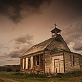 A Simple Wooden Church by Kelly Redinger