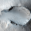 A Small Cone On The Side Of One Of Mars by Stocktrek Images