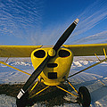 A Small Personal Aircraft Sitting by Heather Perry