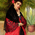 A Spanish Beauty by John-Bagnold Burgess