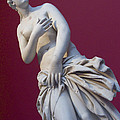 A Statue Of Aphrodite At The Acropolis by Richard Nowitz