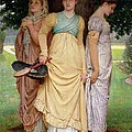 A Summer Shower by Charles Edward Perugini
