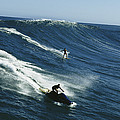A Surfer And Jet-skier Off The North by Patrick Mcfeeley