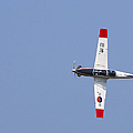 A T-50 Golden Eagle Aircraft In Flight by Stocktrek Images