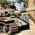 A T-72 Tank Destroyed By Nato Forces by Andrew Chittock