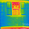 A Thermogram Of A Window by Ted Kinsman