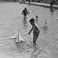 A Toy Boat by H F Davis