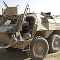 A Tpz Fuchs Armored Personnel Carrier by Terry Moore