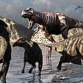 A Tyrannosaurus Rex Moves by Mark Stevenson