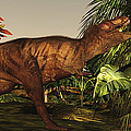 A Tyrannosaurus Rex Runs by Corey Ford