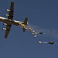 A U. S. Air Force C-130 Hercules by Stocktrek Images